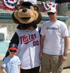 TC the Minnesota Twins Mascot